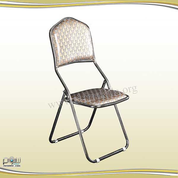 صندلی تاشو طلایی