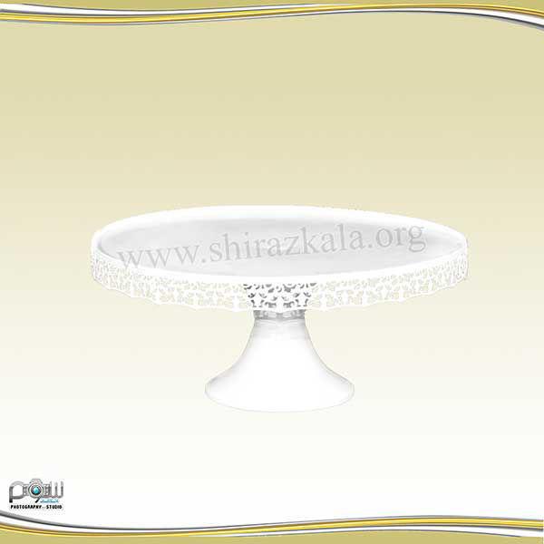 تصویر پایه کیک سفید