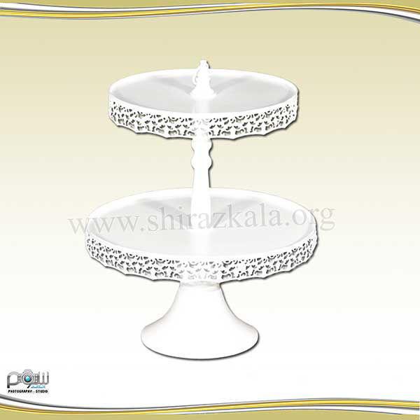 تصویر پایه کاپ کیک سفید
